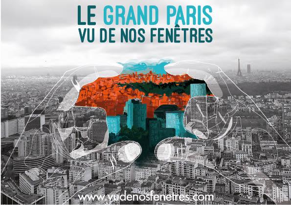 Nos villes vues de nos fen tres le grand paris vu de nos for Marc chagall paris vu de ma fenetre